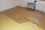 Rekonstrukce podlahy v paneláku 7