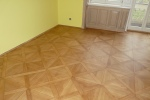 Rekonstrukce podlahy ve starém bytě